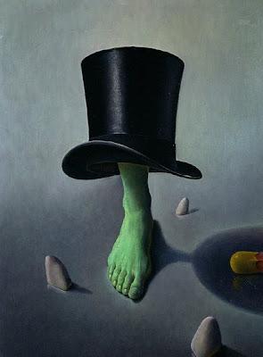 Bellor, Belgian Symbolist Painter. Mirror