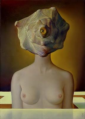 Bellor, Belgian Symbolist Painter. Le Voyage Imaginaire