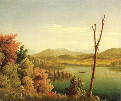 Levi Wells Prentice. Andirondack Lake