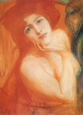 Redhead, 1899 by Teodor Axentowicz