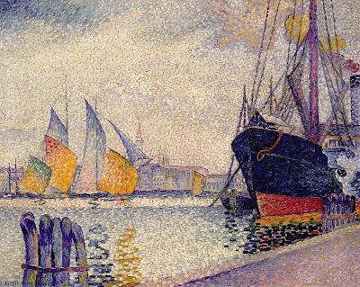 Canal de la Guidecca, Venice by Henri Edmond Cross