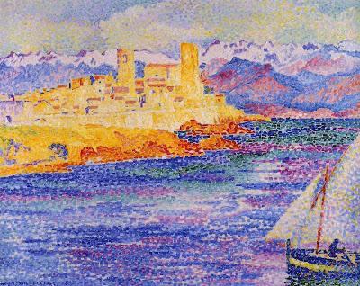Antibes by Henri Edmond Cross