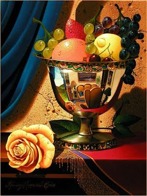 Still Life by Stanley Maxwell Brice. Summer Rose
