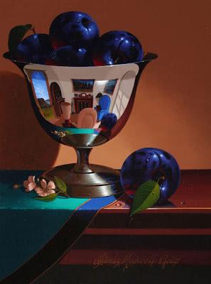Still Life by Stanley Maxwell Brice. Plum Plenty