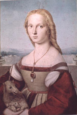 Portraits of  Women of Italian Renaissance.