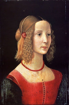 Portraits of  Women of Italian Renaissance. Domenico Ghirlandaio