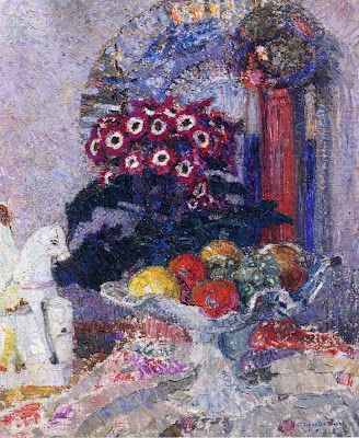 Leon De Smet. Fruit Flowers and Staffordshire