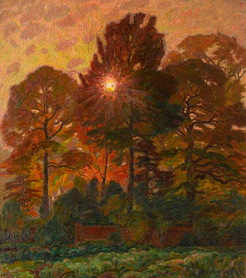 Leon De Smet. Autumn Sunlight
