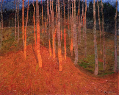 Leon De Smet. Forest at Twilight