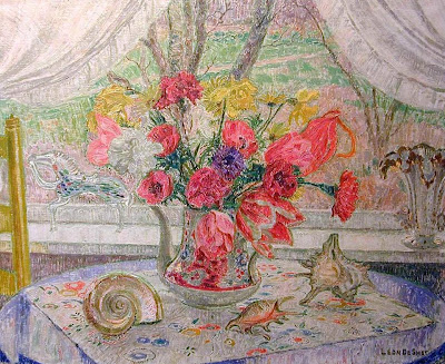 Leon De Smet. Still Life at the Window, 1950