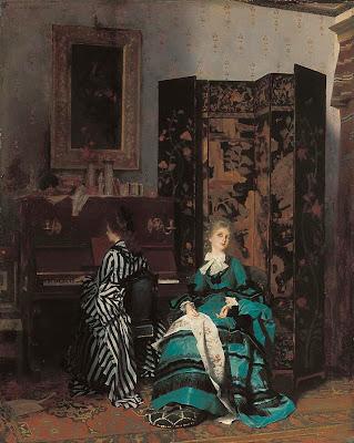 Albert von Keller. Chopin, 1873