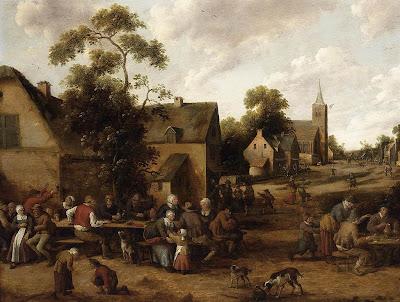 Paintings by Dutch Painter Joost Cornelisz Droochsloot