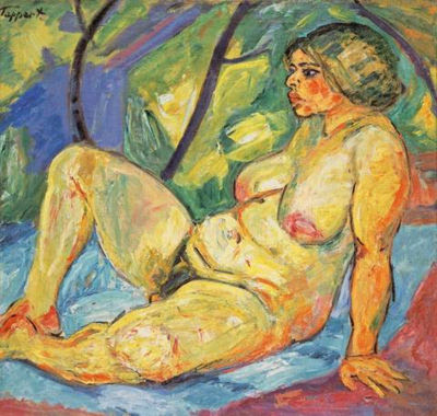 Georg Tappert. Sitting Betty