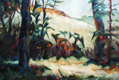 Landscape Painting by Carol McCall