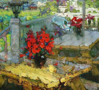 Impressionist Paintings by Zhang Jing Sheng