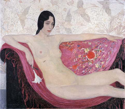 Leon De Smet's Paintings. Louise