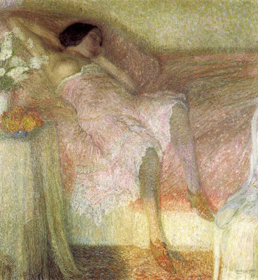 Paintings by Leon De Smet. Rose Harmony