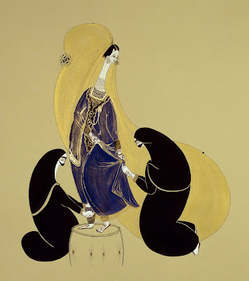 Hayv Kahraman's Paintings. Dressmaking
