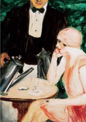 Frank Frigyes Hungarian Painter. Le Verseur, 1927