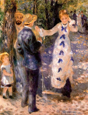 Swing by Pierre-Auguste Renoir
