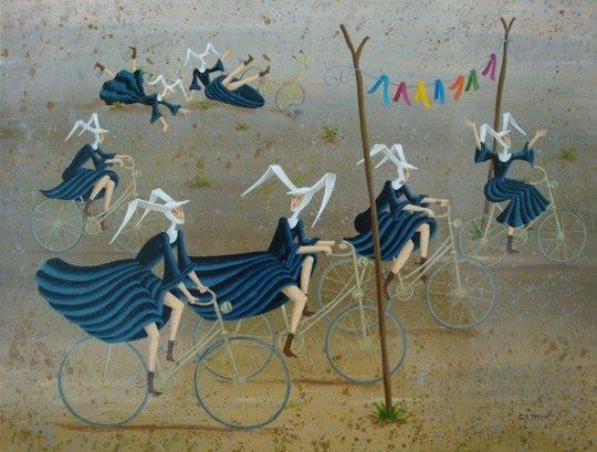 Carole Perret  Naive Artist