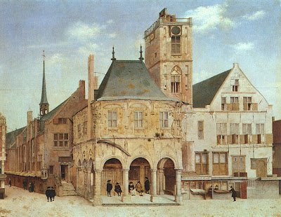 Pieter Jansz Saenredam. The Old Town Hall in Amsterdam, 1657