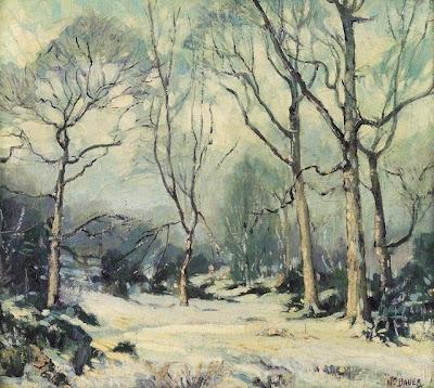 Winter Painting. William Bauer