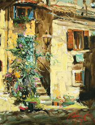 Paintings by Russian Artist Oleg Trofimov