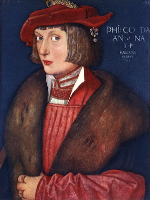 Hans Baldung Grien. Portrait of Count Philip
