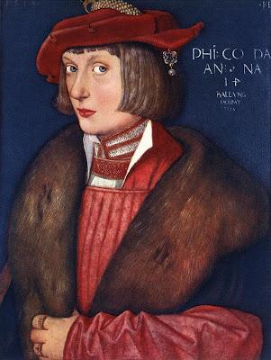 Hans Baldung Grien. Portrait of Count Philip