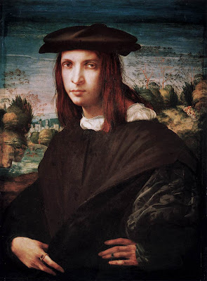 Rosso Fiorentino. Portrait of Young Man