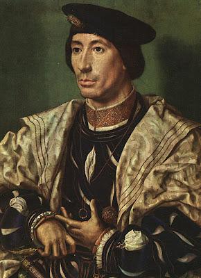 Jan Gossaert (Mabuse) Portrait of Baudouin of Burgundy