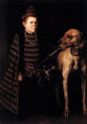 Anthonis Mor Van Dashorst. Cardinal Granvelle's Dwarf