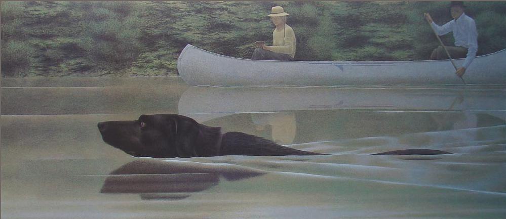 Ca s'est passé en août ! Swimming+Dog+and+Canoe+1979
