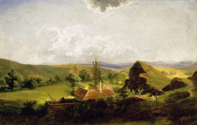 Landscape Painting by Hungarian Artist Karoly Telepy