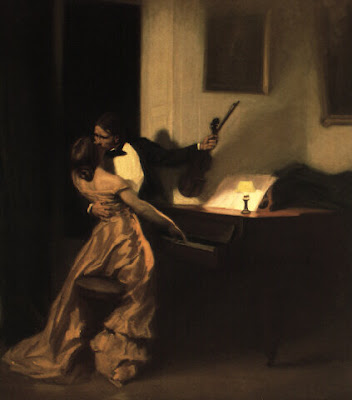 Genre Painting by French Impressionist Artist Rene Xavier Prinet