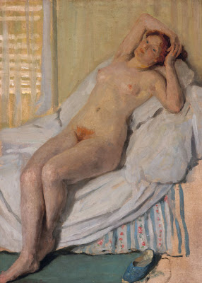 Nude Painting by Australian Impressionist Artist Emanuel Phillips Fox