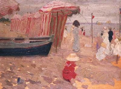 Seascape Painting by Australian Impressionist Artist Emanuel Phillips Fox