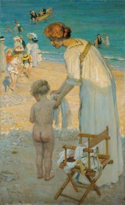 Painting by Emanuel Phillips Fox Australian Impressionist Artist