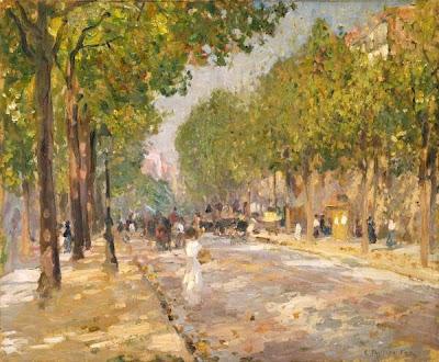 Paris in Painting by Emanuel Phillips Fox Australian Impressionist Artist