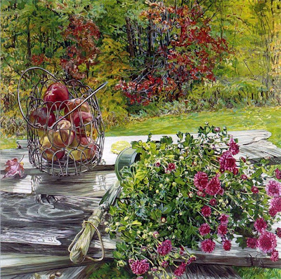 Still Life Painting by Janet Fish American Artist