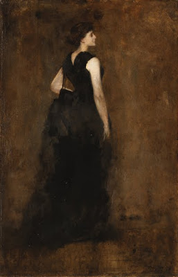 Figurative Paintings by American Tonalist Artist Thomas Wilmer Dewing