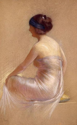 Women in Pastels by Gaston Bouy French Painter