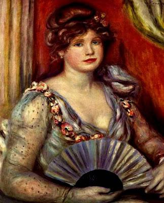 Fan in Painting Pierre-Auguste Renoir