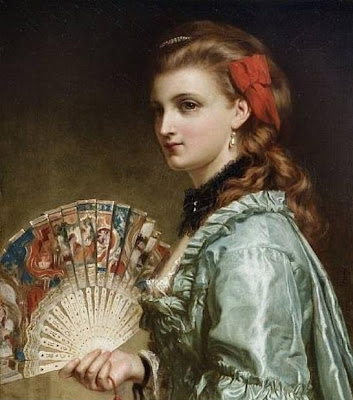 Frank Dicksee - Portrait of a Lady