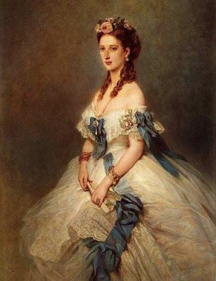 Fan in Painting Alexandra, Princess of Denmark, Princess of Walesid=