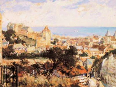 Landscape Painting by French Artist Jacques Emile Blanche