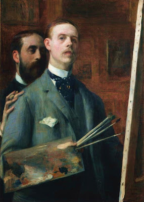 Portrait Painting by Jacques Emile Blanche French Artist