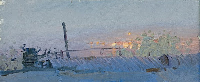 Painting by Russian Artist Bato Dugarzhapov