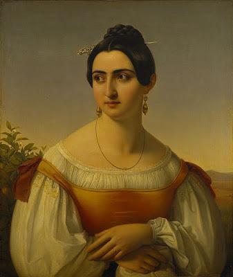 Famous Italian Model of 19th c. Fortunata Segatori